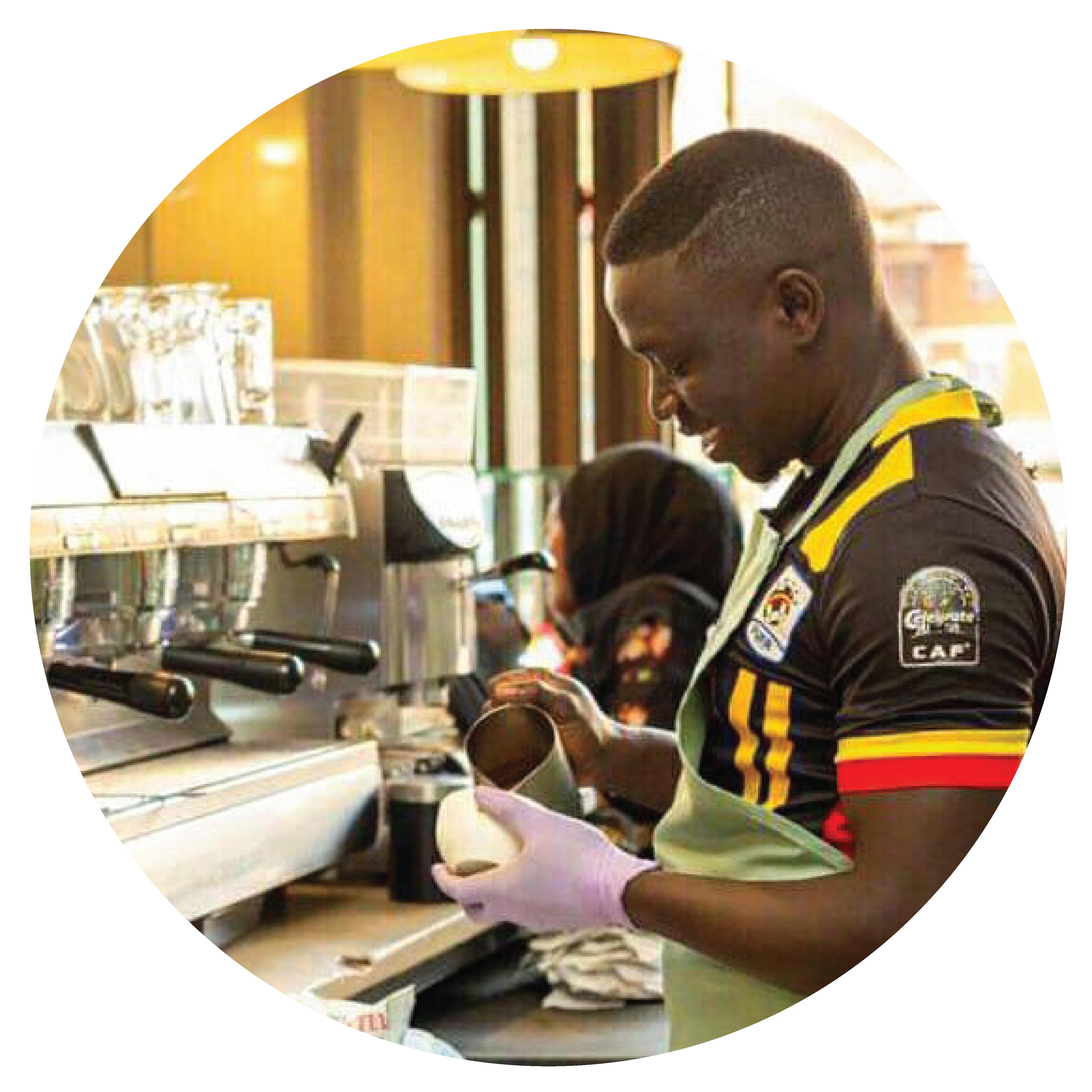 Anadonla Isaac - Drink Uganda Coffee